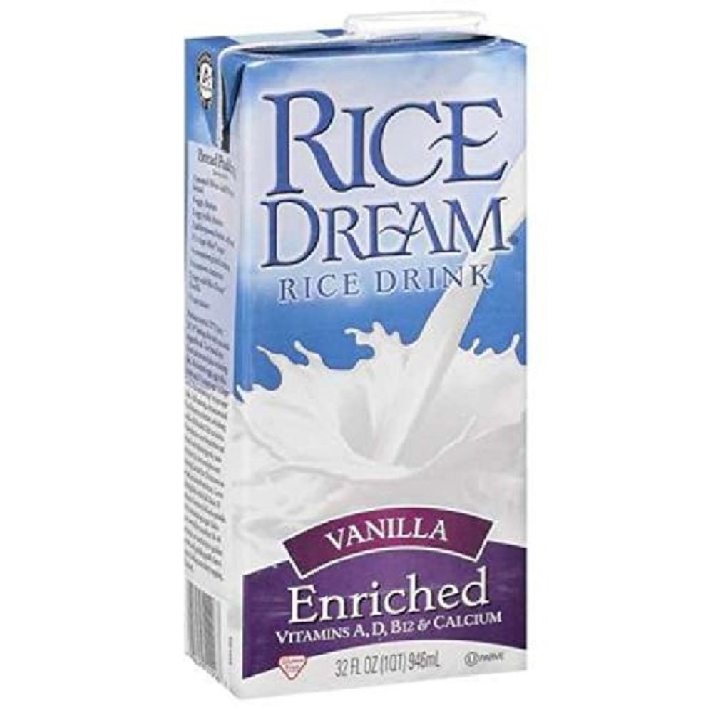 Rice Dream Enriched Vanilla 32 Ounces (Case of 12) by Imagine Foods