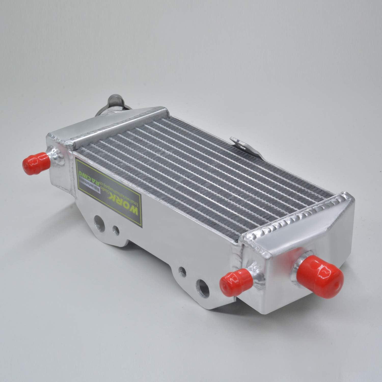 Pour kawasaki KX250 kx 250 1999 2000 2001 2002 radiateur en aluminium et silicone tuyau