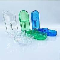 Tablet Dividers, Pack van 3 Pill Dividers, Medische Dividers voor grote en kleine tablets, Medische Divider met…