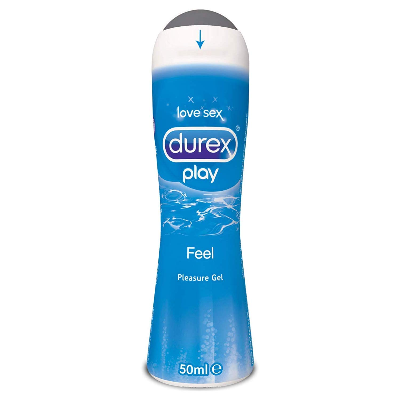 Durex Pleasure Gel Lubrificante Intimo, Play, 50 ml