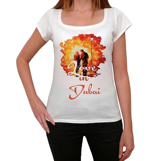 Dubai, camisetas para mujer, mujer camisetas, love tshirt: Amazon.es: Ropa y accesorios