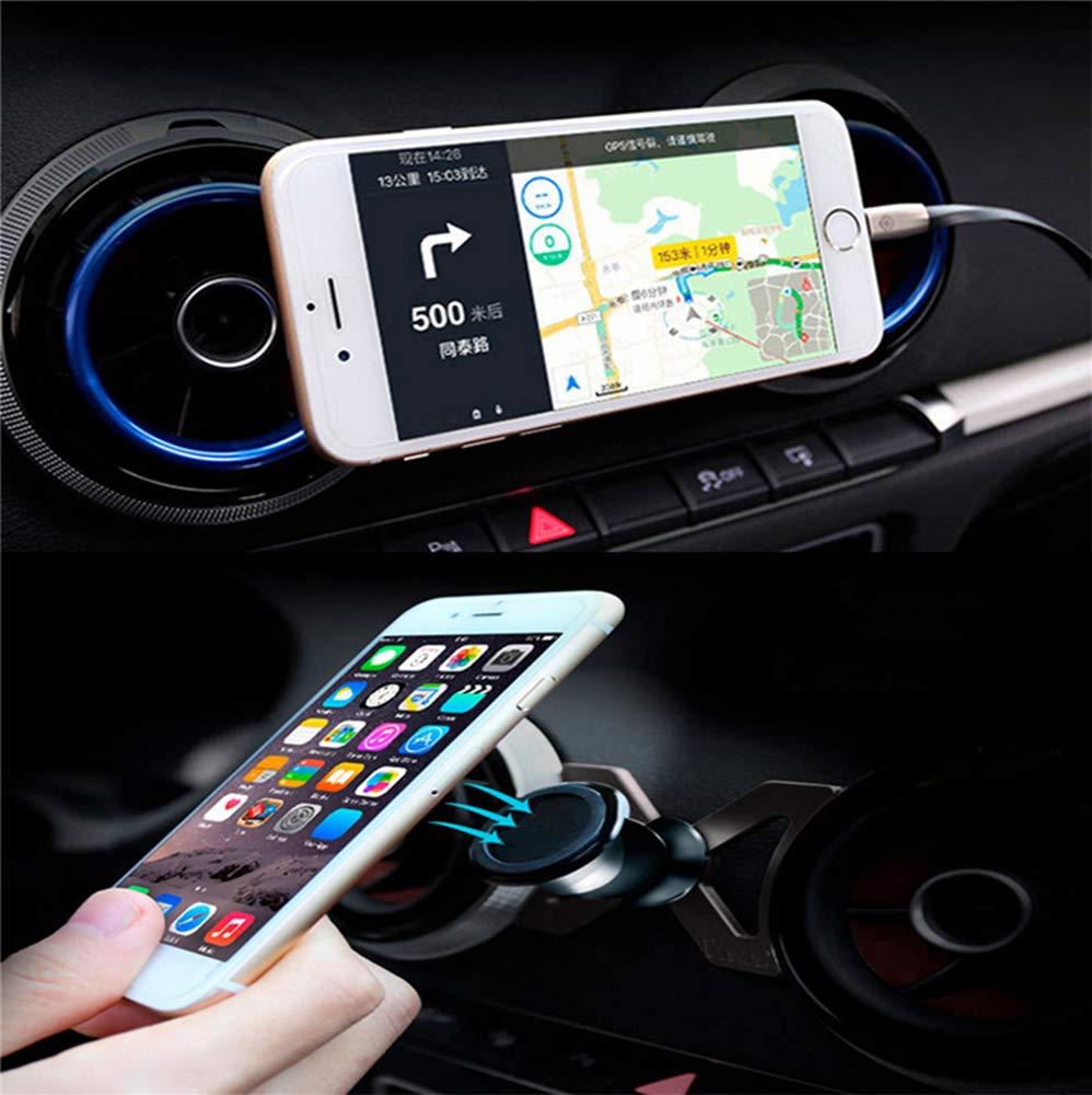 Pink UR URLIFEHALL Car Phone Mount,Crystal Rhinestone Car Mobile Phone Holder Air Vent Mount Bling Phone Stand Holder