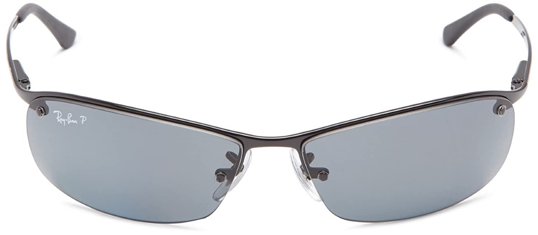 c14163ad0e1 Ray-Ban 3183 Matte Black Sunglasses  Amazon.co.uk  Clothing