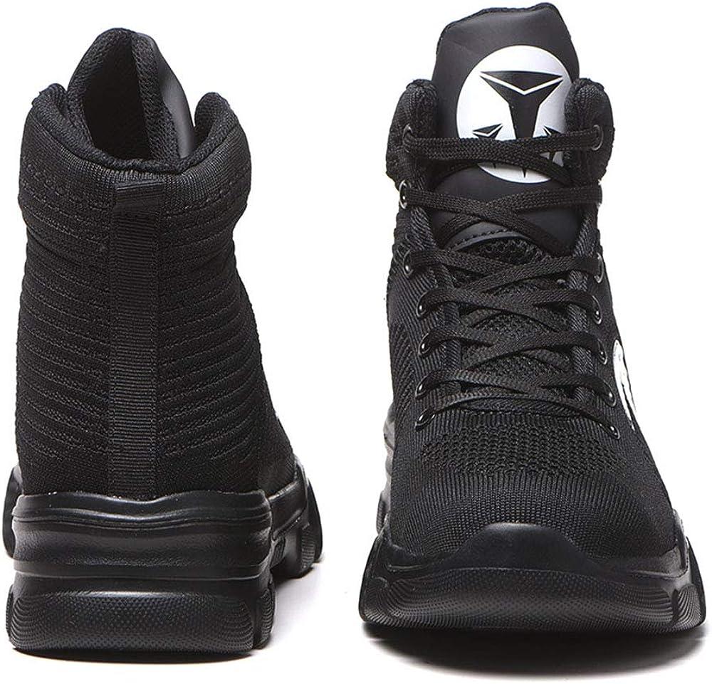 construcci/ón Industrial Botas Impermeables Antideslizantes Ce ville Zapatos de Seguridad para Hombre con Puntera de Acero para Invierno