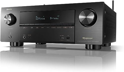 Denon AVR-X3600H 9.2 Channel 4K Ultra HD AV Receiver with Heos Renewed