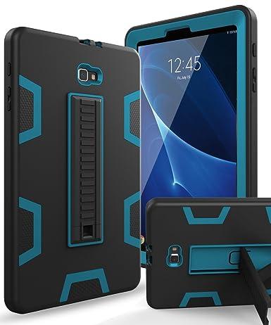 leather case samsung galaxy tab a 10.1 2016 tablet sm-t580 t585 black