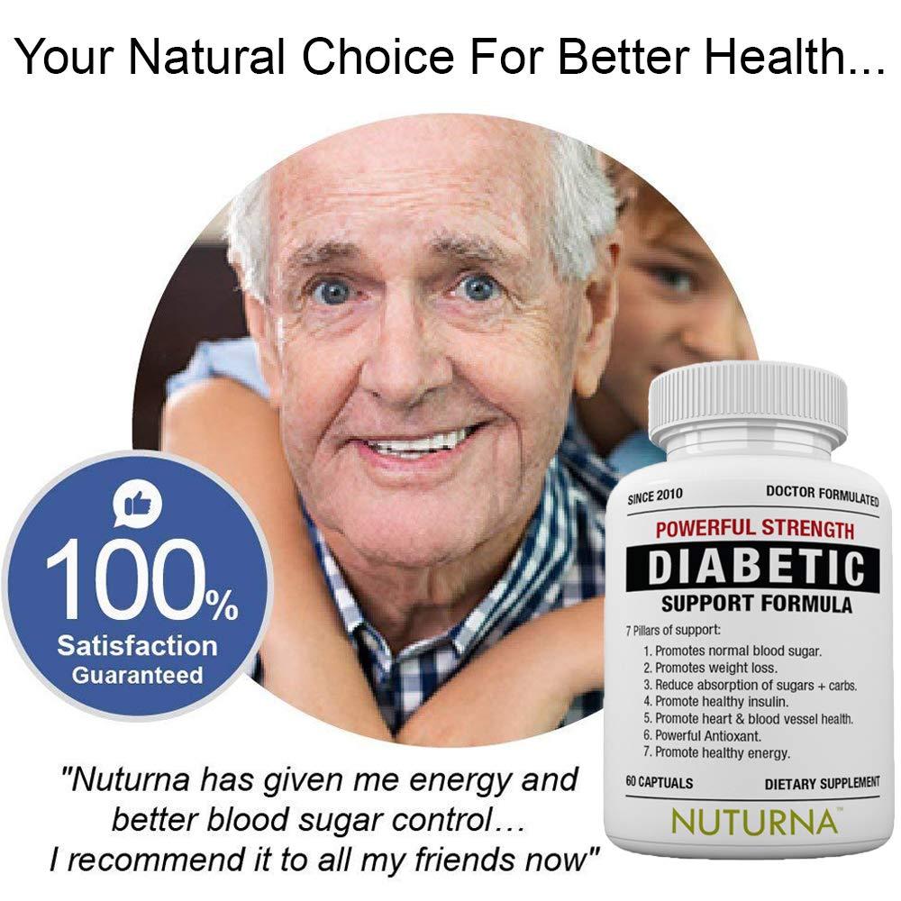 Diabetic Support Formula - 28 Vitamins Minerals & Herbs