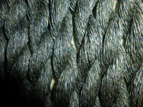 Five Skeins Jagger Loden Green 55% Lambswool 30% Poly 15% Nylon Lace Wt Yarn