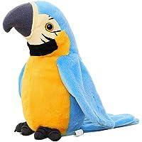 BSTiltion Papegaai speelgoed voor kinderen, elektrisch praten papegaai herhaalt wat je zegt, interactief praten papegaai…