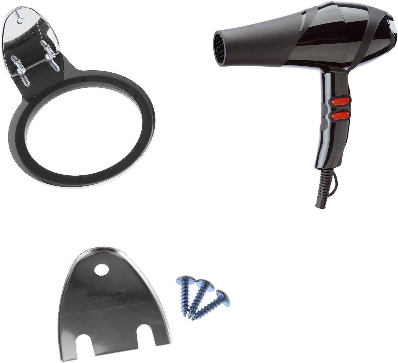 ENET Soporte para secador de pelo de acero inoxidable para ba/ño