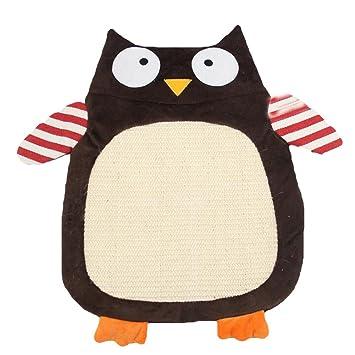 Running Pet gato tabla de rascar alfombra Cat Mate cojín Sisal Charme estilo de historieta Sisal griffoir alfombra para gatos tabla de rascar cama: ...