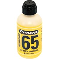 Dunlop DL PF 00004 6554 Lemon Oil 4 oz Griffbrett Ultimate Zitronen/Lemon Oil
