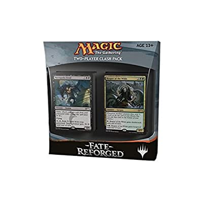 Magic The Gathering: Fate Reforged Clash Pack (2 Decks - Includes 6 Alternate Art Promo Cards): Toys & Games