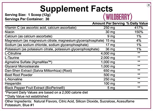 Rich Piana 5% Nutrition Full as F*ck Wildberry, 30 servings 12.70oz