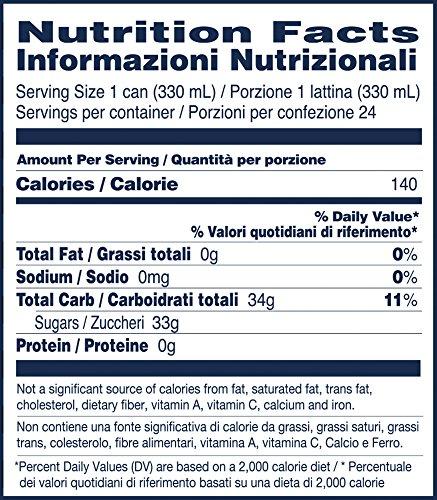 Sanpellegrino Pomegranate and Orange Sparkling Fruit Beverage, 11.15 fl oz. Cans (24 Count)