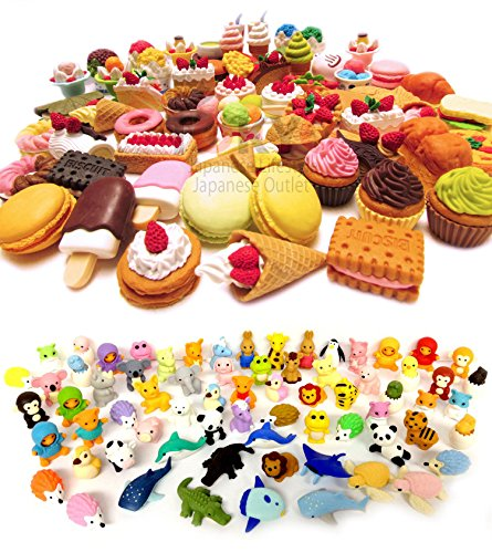 Iwako Erasers Dessert Assorted Collection product image