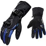 1 par de luvas de motocicleta Homyl, luvas para corridas de moto, ciclismo, podem ser usadas em telas sensíveis ao toque.Homy
