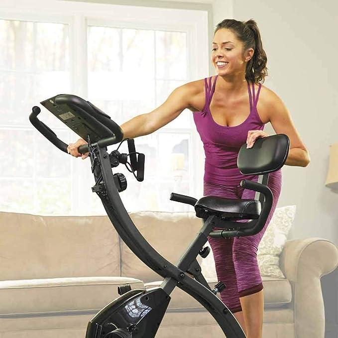 BOTOPRO - Slim Cycle, Bicicleta estática 2 en 1 para Uso en casa ...