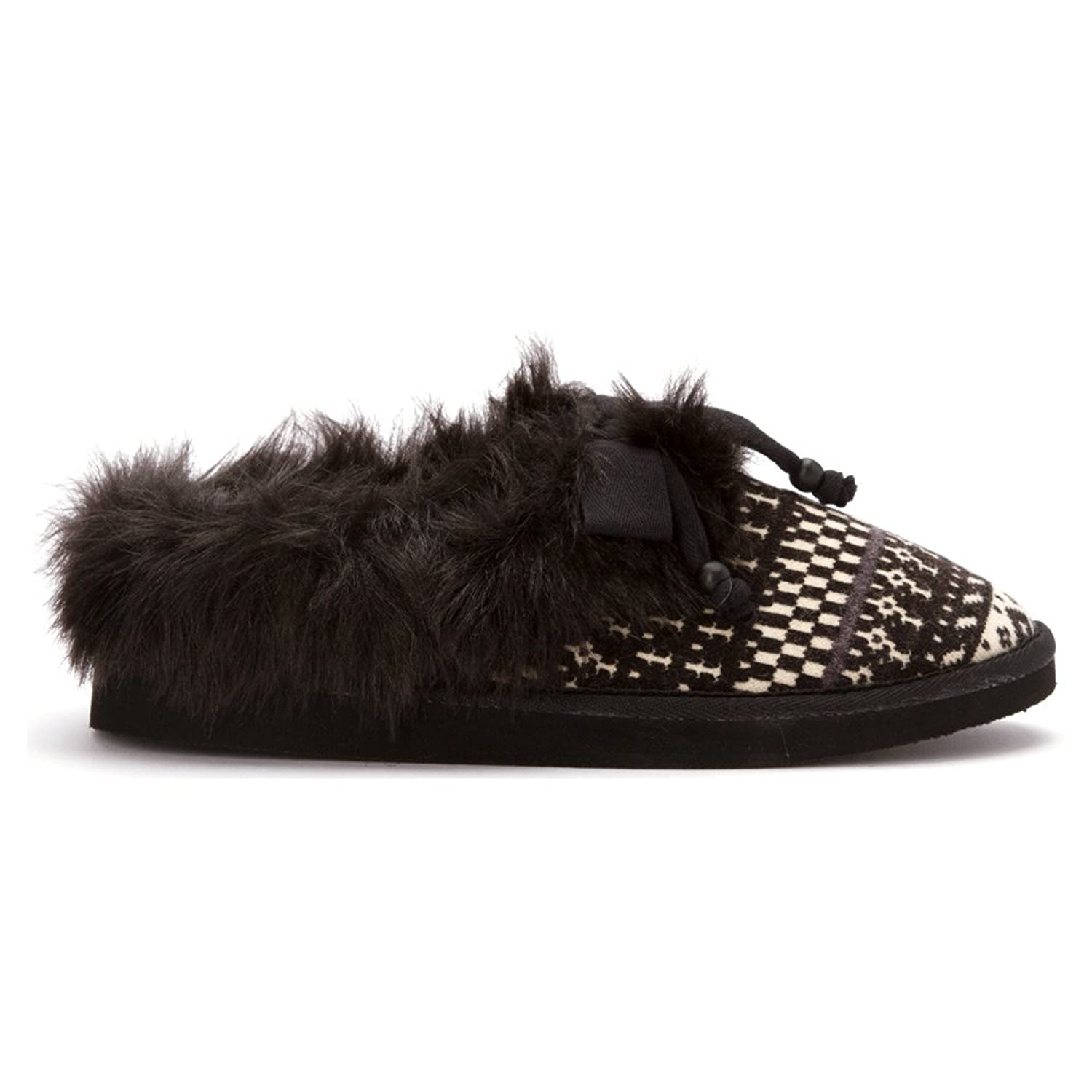 Womens Slippers Rocket Dog Barstow Charcoal Beany