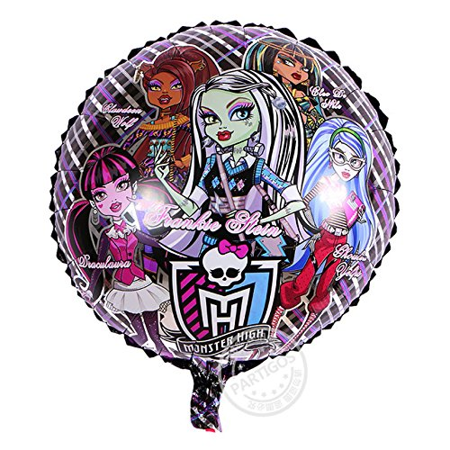 2 Psc Metal Inflatable Balloon Monster high for a Holiday Children's Kids Party Party Favor Party Supplies Invitation Deco Russian Cartoon