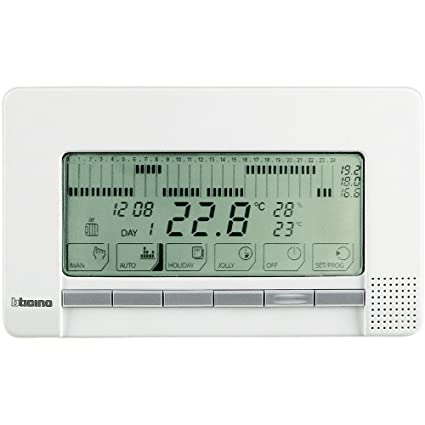Bticino Livinglight N4450 - Ll-Cronotermo 2X1,5V Sup. Blan