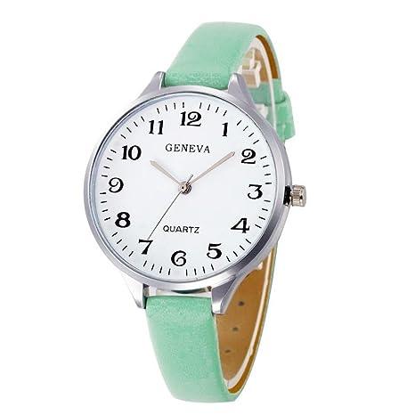 Relojes de Mujer 2018 Reloj Mujer Moda Relojes niña Reloj de ...