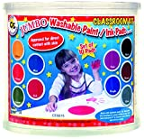Jumbo Circular Washable Pads - 10 count - Assorted colors