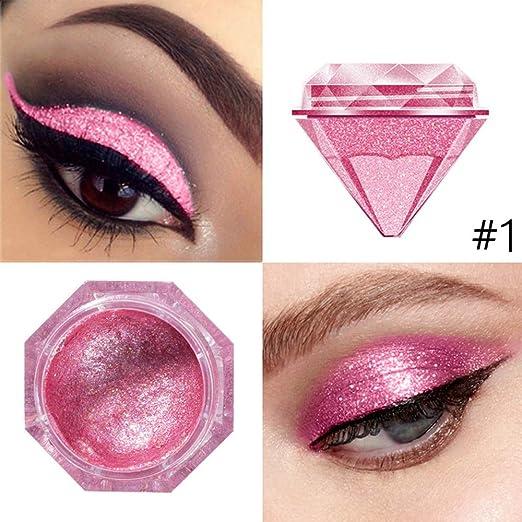 Highlighter Cream Gel Face Creamy Mermaid Eyeshadow High Light Liquid Body Shimmer Glitter Metallic Super Pigment Eye Shadow