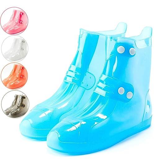 GRXXX Funda de Silicona para Zapatos Impermeable Día lluvioso ...