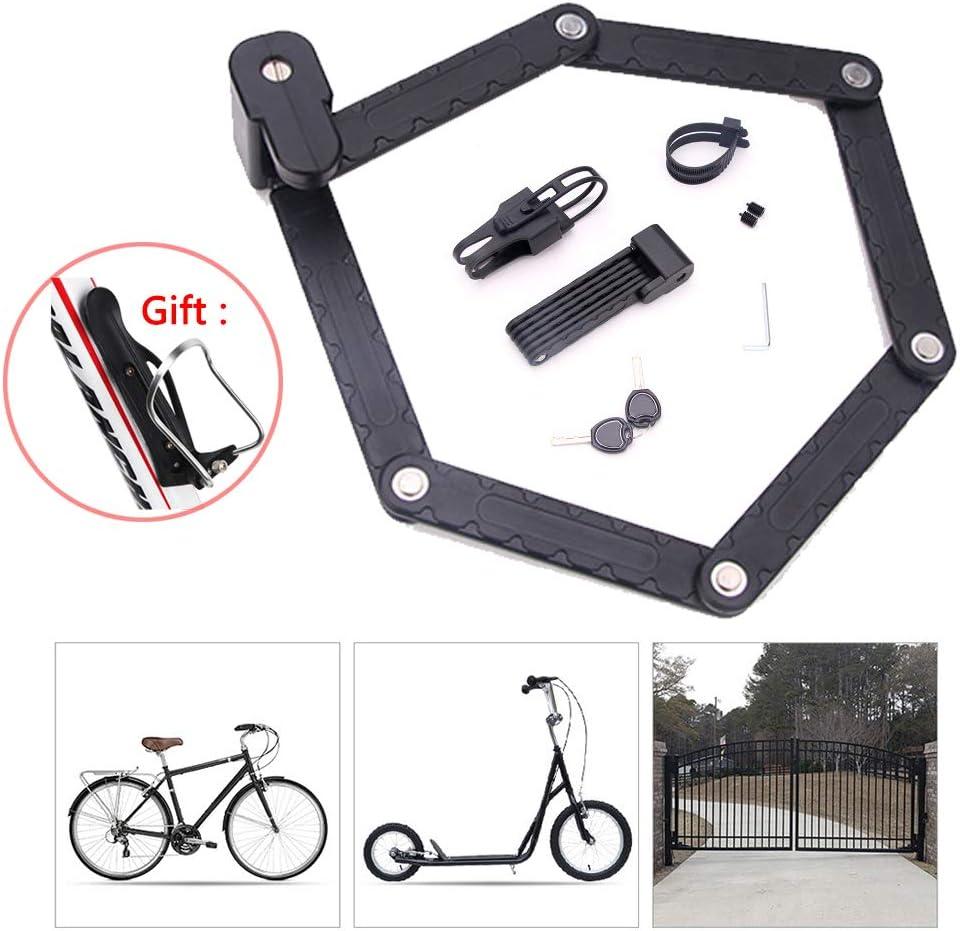 Candados Plegables Candado Bici,Candado Bicicleta Alta Seguridad ...