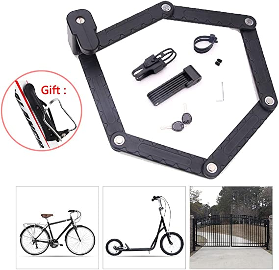 Candados Plegables,Candado Bici Candado Bicicleta Alta Seguridad ...