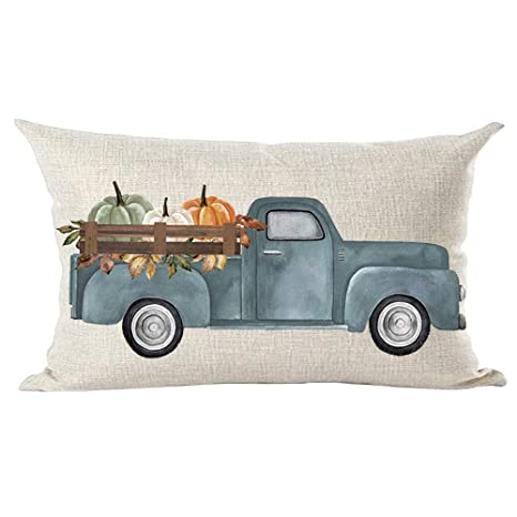 Amazon.com: Ramirar - Funda de cojín con diseño de camioneta ...