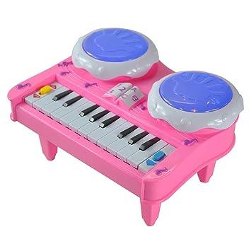 Instrumentos Musicales Desarrollo de Órganos Piano Electrónico Teclado Niños: Amazon.es: Juguetes y juegos