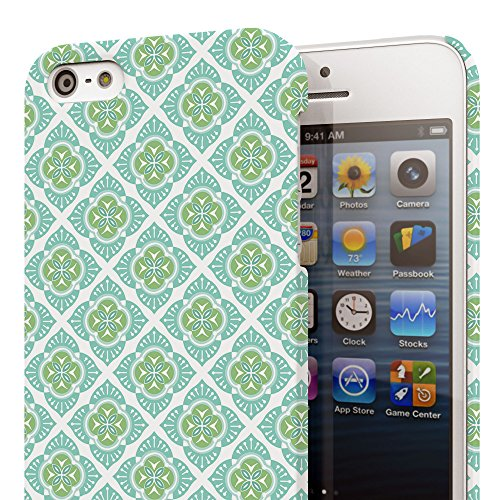Koveru Back Cover Case for Apple iPhone 5S - Vector Illustration Thai Pattern