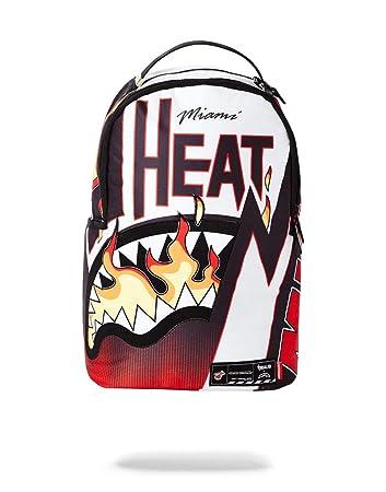 sale retailer c041e 56f2a Amazon.com | SPRAYGROUND BACKPACK NBA LAB MIAMI HEAT FLAME ...