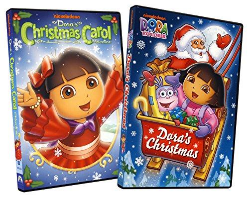 VHS : Dora the Explorer: Dora's Christmas Carol Adventure/Dora's Christmas