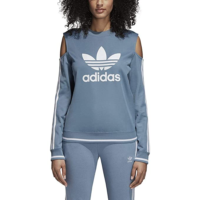 official shop differently detailing Adidas Women Originals Cutout Sweater