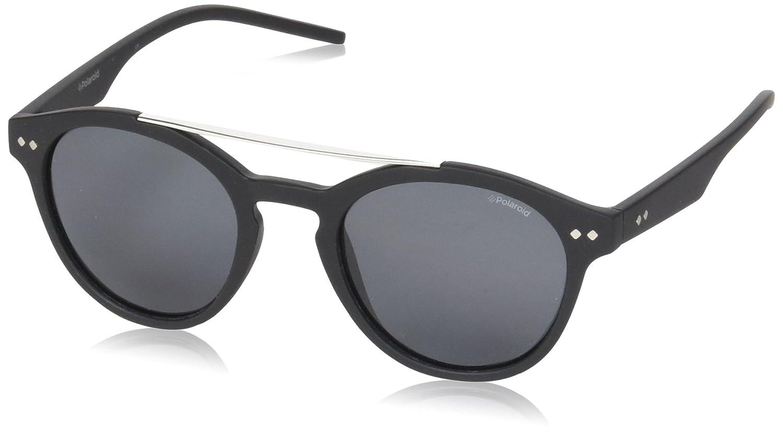 Polaroid PLD 6030/S M9 003 50 gafas de sol, Negro (Matt Black/Grey Pz), Unisex-Adulto