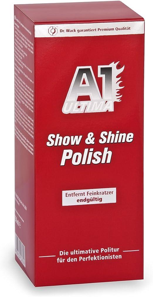 Dr Wack Car Polish A1 Show And Shine Premium Car Polish And Scratch Remover Auto