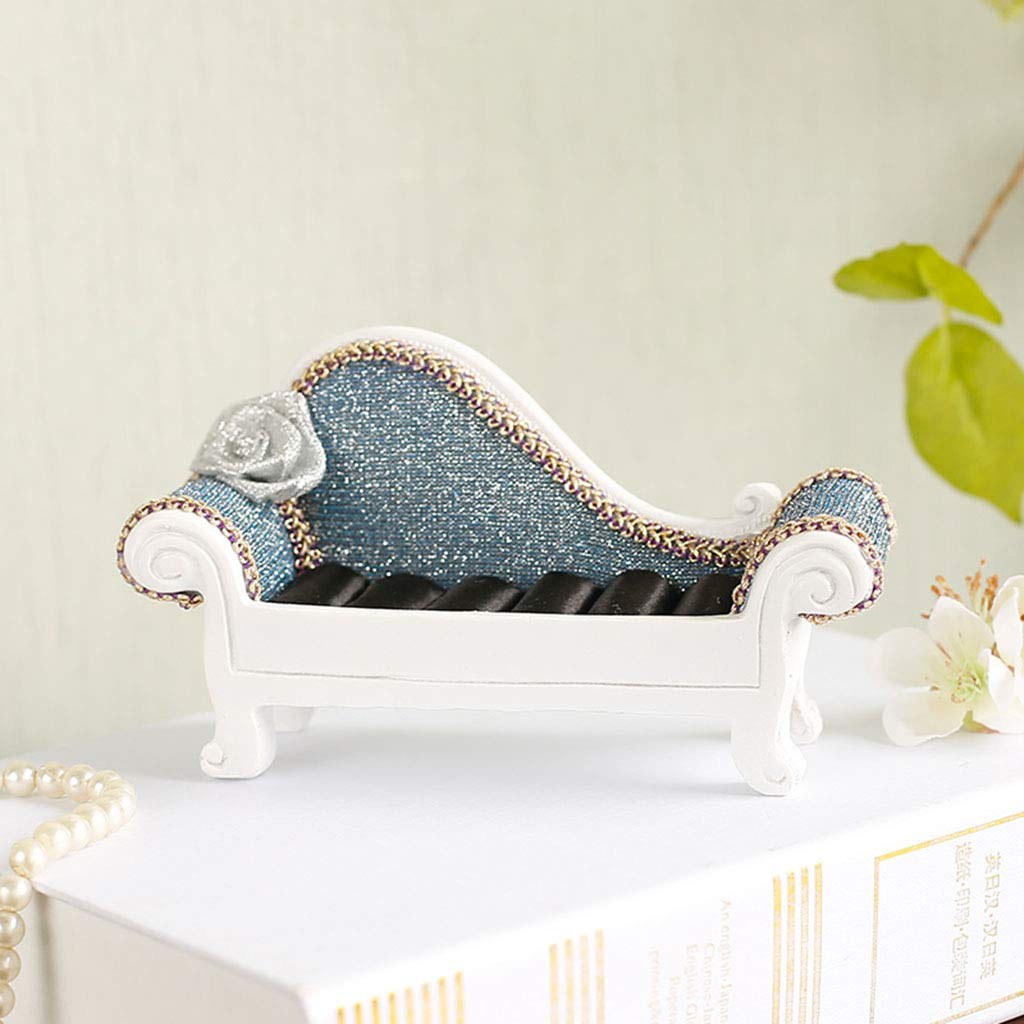 Ornaments for Home-Resin Jewelry Rack Decoration Storage Jewelry Display Stand Model High-Heeled Jewelry Frame Decoration 2814 Size : B