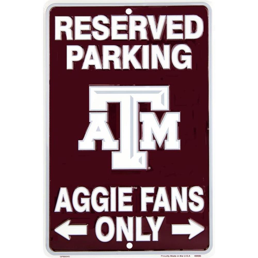 Signs 4 Fun SPSCTA TX A&M - Aggies Fans Small Parking