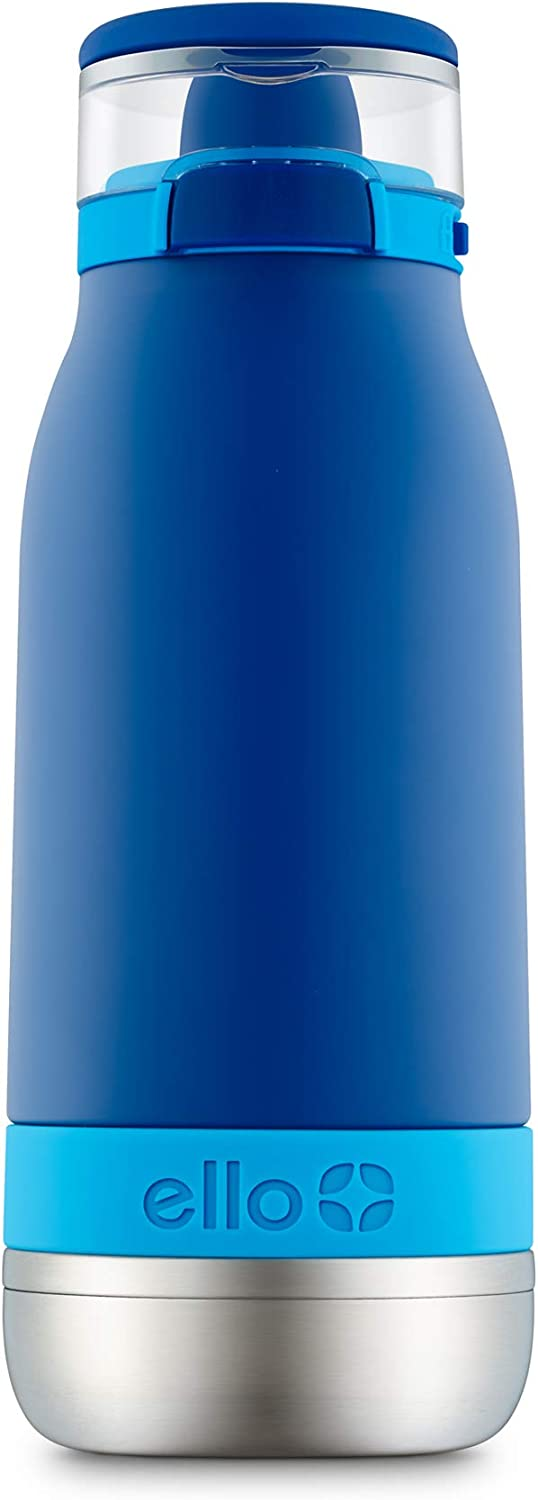 Ello Emma 14oz Vacuum Insulated Stainless Steel Kids Water Bottle