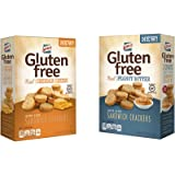 Lance Gluten Free Sandwich Crackers, Peanut Butter and Cheese 5 oz (Pack of 4)
