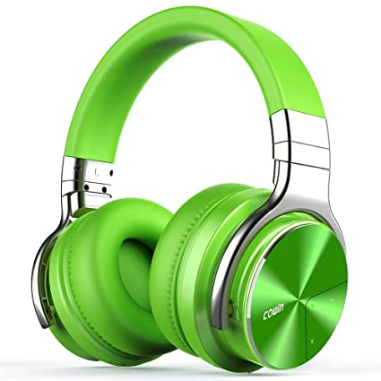 96e81ae838e COWIN E7 Pro Active Noise Cancelling Headphones Bluetooth Headphones  Wireless Headphones Over Ear with Mic/
