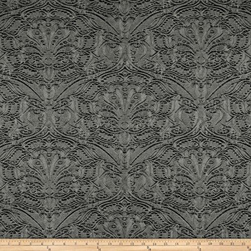 Diversitex Fabrics Stonewashed Embossed Denim Fossil Moondust Fabric By The Yard - Heavyweight Stonewashed Denim