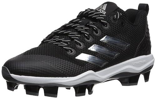 new product 7ef4c a7b0f adidas Men s Freak X Carbon Mid Softball Shoe, Black Metallic Silver White,