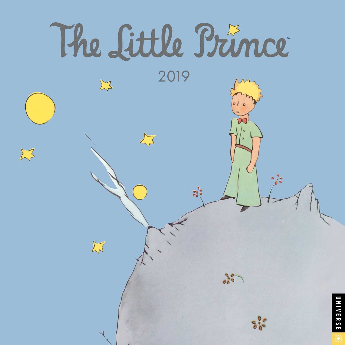 The Little Prince 2019 Wall Calendar Antoine De Saint Exupery