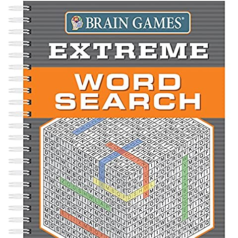 Brain Games Extreme Word Searches (Search Del)