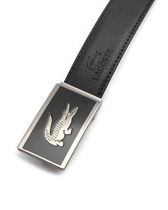 LACOSTE - - Homme - Coffret ceinture réversible noir marron Gros Logo Croco  pour homme  Amazon.fr  Vêtements et accessoires 4ffaa3a1477