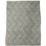 Filigree Paisley Blanket: Large